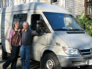 Traveling Van